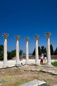 The Corinthian Temple of Apollo, The Asklepion, Kos Island, Dodecanese Islands, Greece.