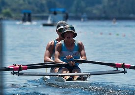 Taken during the Cambridge Town Cup and NI Championships 2018, Lake Karapiro, Cambridge, New Zealand; ©  Rob Bristow; Frame  - Taken on: Saturday - 27/01/2018-  at 13:53.08