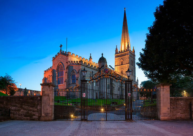 St Columb's Blue Hour