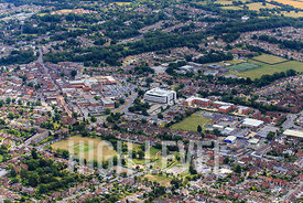 Aerial Photography taken in and around Burgess Hill, UK
