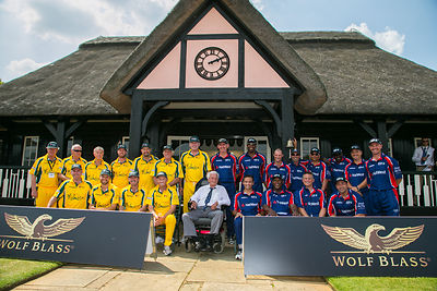 PCA Masters v ACA Masters at Wormsley photos