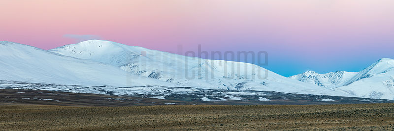 Altai Peaks at Jalanash at Dawn