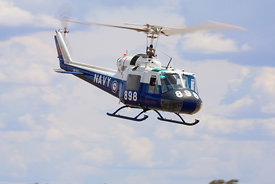 Royal Australian Navy Huey helicopter