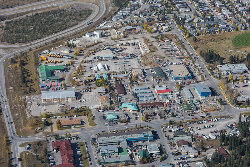 Canmore Industrial Area