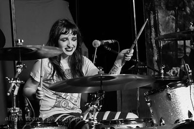 Meghan Shea Herring, drums, Doll Skin