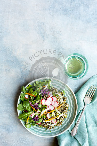 Tarragon Pesto French Green Lentil Salad