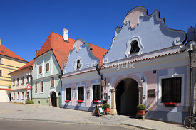 Old houses, Trebon, Czech Republic