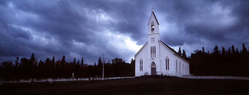 White Church in Nova Scotia