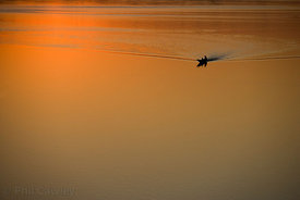 Sunset, Mekong River