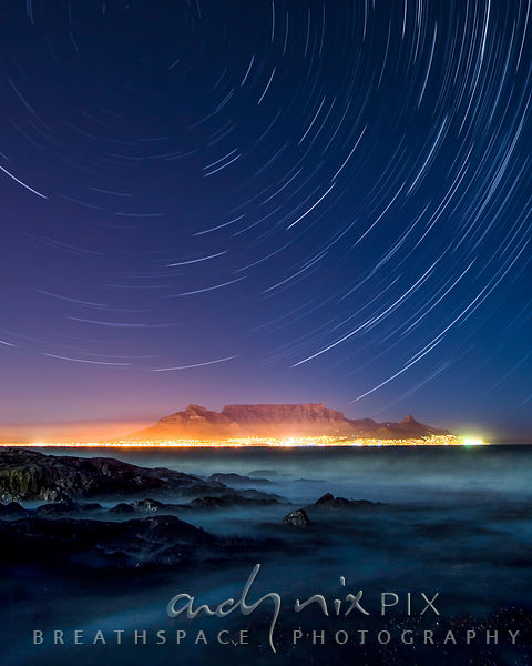 Table Mountain Star Trails