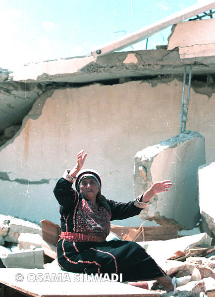 Palestinian homes demolished photos