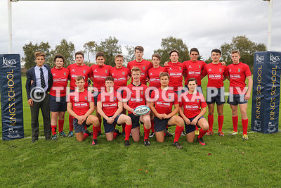 1st & 2nd XV Rugby v Kingham. 4th Oct 2017 photos