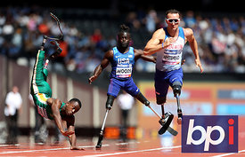 World Para Athletics Championships 2017, Day Four, London Stadium, London, UK, 17 July 2017
