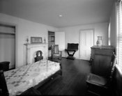 Bedroom of Philadelphia home Edgar Allan Poe bedroom