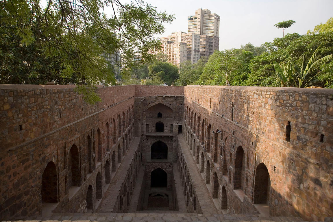 Agrasen Ki Baoli, a traditional step well