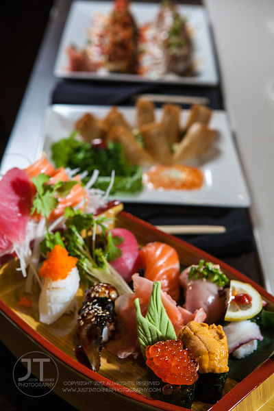 Sushi Dinner, Formosa (Justin Torner/Freelance for the Press-Citizen)