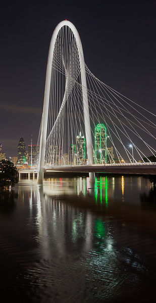 Bridge and Downtown Dallas