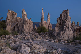 Tufa Formation in dawn light