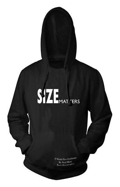 SizSize Matters Hoodie Pullover