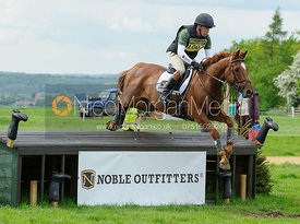 Simon Grieve and MR FAHRENHEIT III - Rockingham Castle International Horse Trials 2016