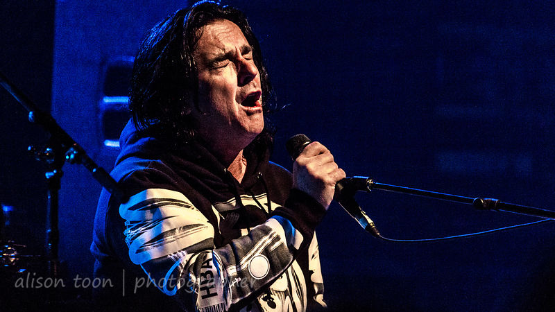 Steve Hogarth, vocals, Marillion, Friday evening, Montreal, 2015