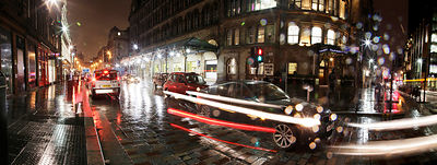 Panoramic photography of Glasgow..Gordon Street..Picture Copyright:.Iain McLean,.79 Earlspark Avenue,.Glasgow.G43 2HE.07901 604 365.photomclean@googlemail.com.www.iainmclean.com.All Rights Reserved.No Syndication