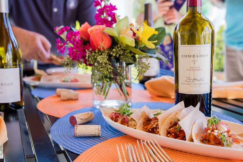Taco night featuring wine and Mexican food for Kendal Jackson Winery. Commercial photography and styling by Jason Tinacci