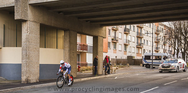 The Cyclist Stefan Denifl - Paris-Nice 2016