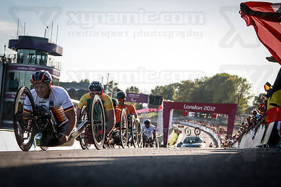 Paralympic Hand Cycling Brands Hatch photos