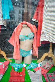 Paris, boutique de lingerie fine