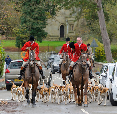 The Belvoir Hunt at Colston Bassett 28/11 photos