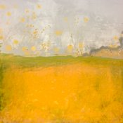 Yellow Abstract of Landscape | Photo Made to look like Painting