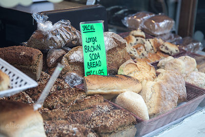 Bread on sale in Dalkey, Ireland