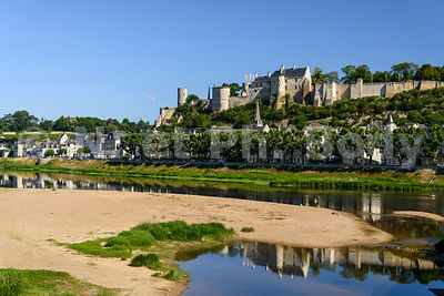 FRANCE, VALLEE DE LA LOIRE, CHATEAU DE CHINON // FRANCE, LOIRE VALLEY, CASTLE OF CHINON