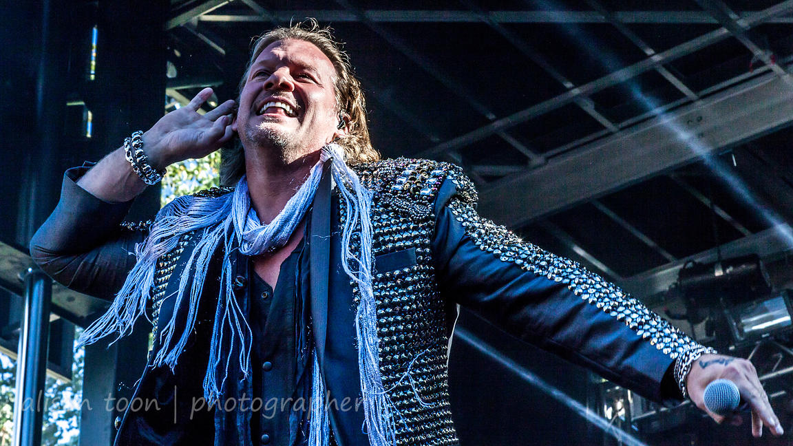 Chris Jericho, vocals, Fozzy