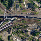 Railway/Road Bridge, Ludwigshafen