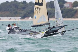 Be Light, HUN 18, 18ft Skiff, Euro Grand Prix Sandbanks 2016, 20160904166