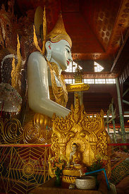 Profile of Buddha in Nga Htat Gyi Pagoda