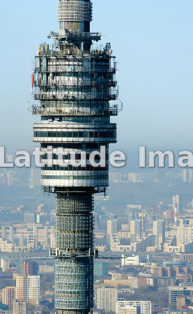 Russia, Moscow. Ostankino TV tower.