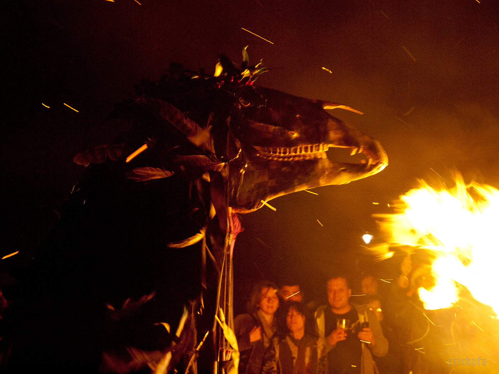 Montol - winter solstice celebrations in Penzance