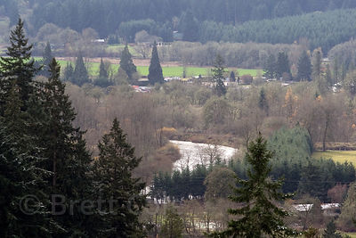 View from Mount Pisgah, Willamette Valley, Oregon