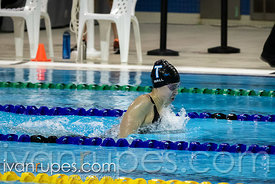 200m IM Women B Final. Ontario Junior International, Day 3, December 16, 2018