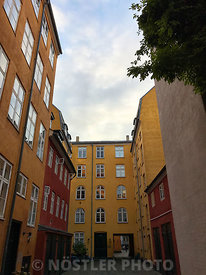 Nyhavn backyards