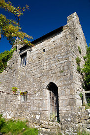 13th century Gatehouse, Llantwit Major, Vale of Glamorgan, South Wales, UK.