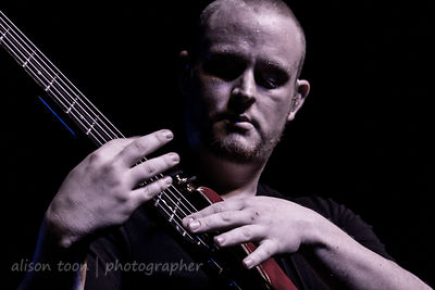 "Brendan ""Cygnus"" Brown, bass, Ne Obliviscaris"