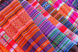 Flower Hmong Cloth Embroidery