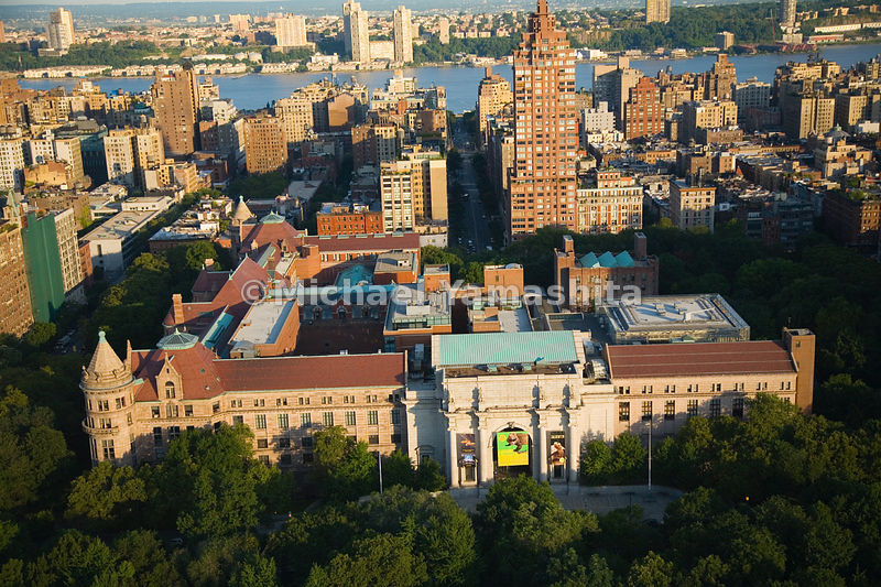 The American Museum of Natural History is one of the most visited museums in Manhattan, New York City.