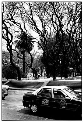 Taxi à Buenos Aires, 2001.