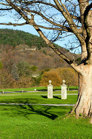 Margam Manor Country Park, Port Talbot, South Wales, UK.
