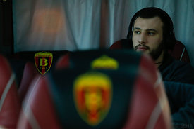 Dejan MANASKOV of Vardar during the Final Tournament - Final Four - SEHA - Gazprom league, team arrival in Varazdin, Croatia, 30.03.2016, ..Mandatory Credit ©SEHA/Stanko Gruden